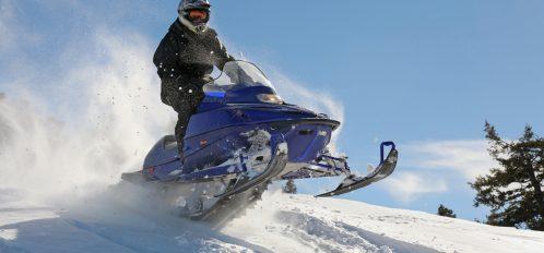 Snowmobiling in Leavenworth, WA