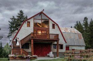 barn venue wedding choice