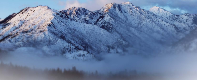 Mountains near Leavenworth, WALocated 1/2 way between Steven