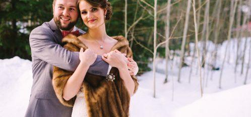 Pine River Ranch Winter Wedding