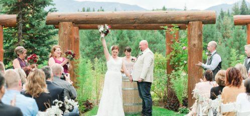 Pine River Ranch Outdoor Wedding