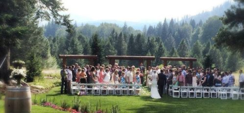 Outdoor Ceremony at PRR