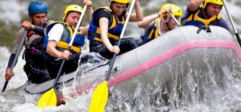 River Rafting Near Pine River Ranch