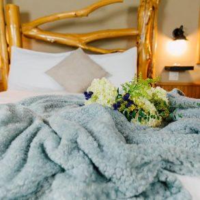 Ponderosa Suite Blanket on Bed