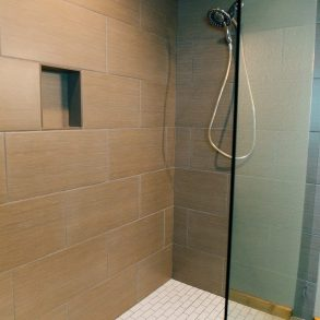 Ponderosa Suite Shower