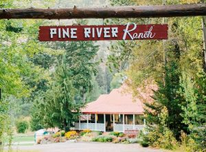 pine river ranch front entrance
