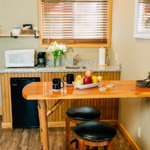 Kitchenette in Ledgepole Suite at Pine River Ranch