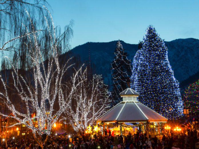 Leavenworth, WA Winter Festival Lights