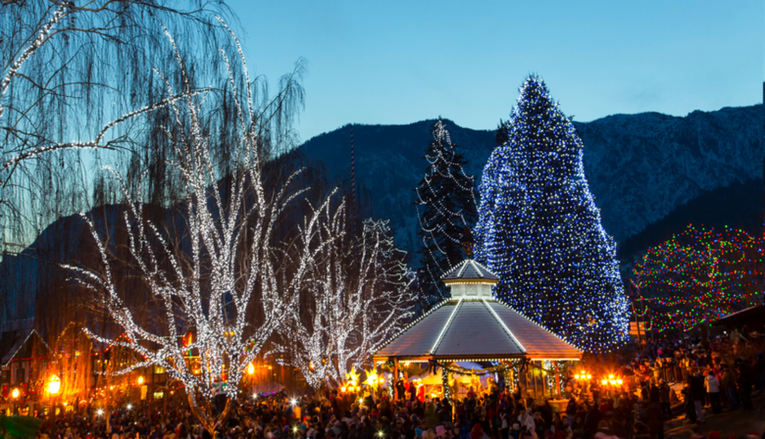Leavenworth Christmas Lighting