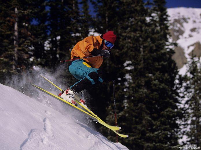 Skiing Near Leavenworth, WA