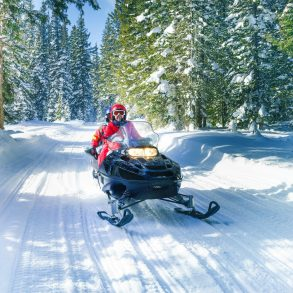 Snowmobile Leavenworth