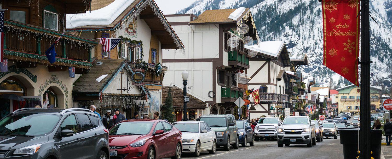 Leavenworth feels like a real Bavarian village.