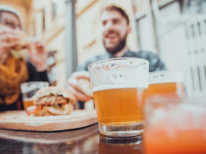 Couple Dining in Leavenworth Restaurants
