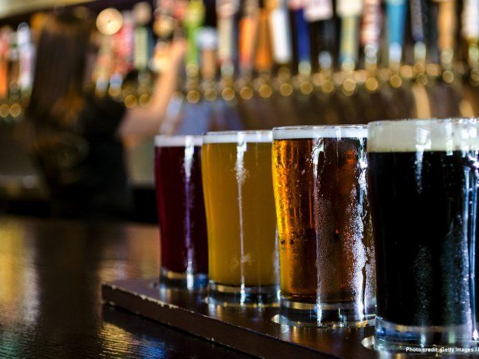 Flight of Beer From Leavenworth, WA Breweries